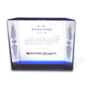 2012 한국방송기자대상 공로상 수상