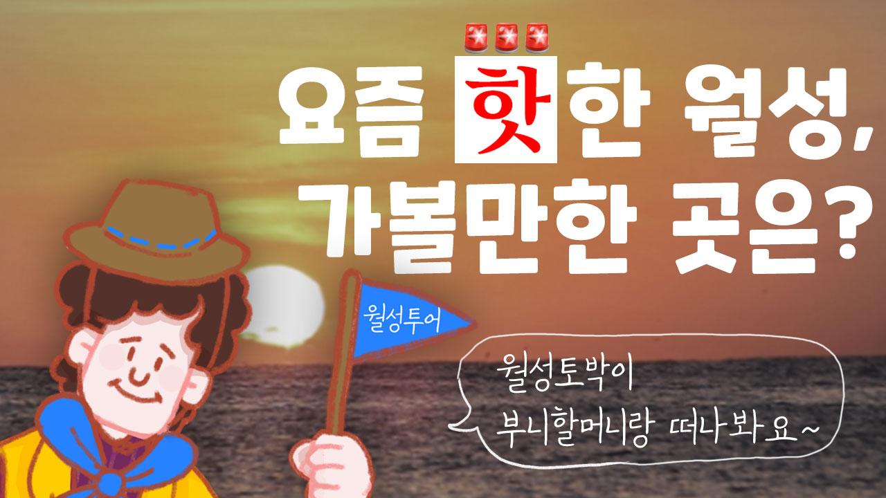 부니 할머니의 원전 이야기 ③ 요즘 핫한 월성, 가볼만한 곳은?